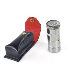 Podwójny metalowy pojemnik na oleje w etui, nikiel (13)