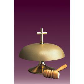 Gong kościelny jednotonowy, matowy - średnica 18 cm.