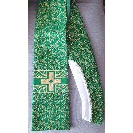Stuła kapłańska zielona nr 18