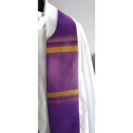 Stuła kapłańska fioletowa nr 20