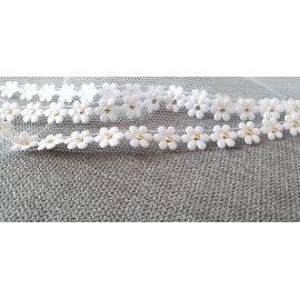 Welona na monstrancje 120 cm - drobne białe kwiatki