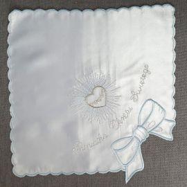 Szatka do chrztu haftowana (8)