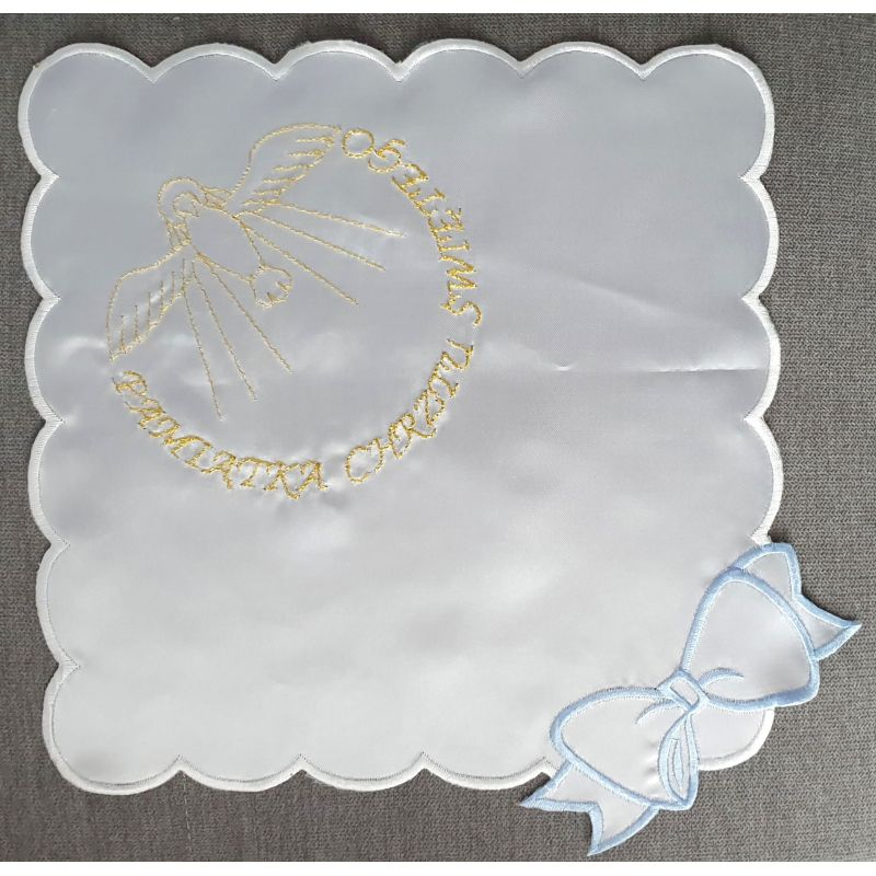 Szatka do chrztu haftowana (10)