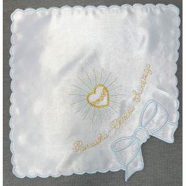 Szatka do chrztu haftowana (12)