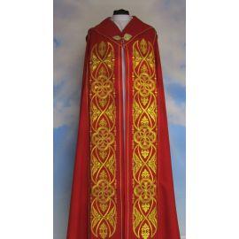 Kapa haftowana IHS - kolory liturgiczne (50)