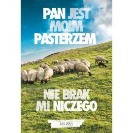Plakat Krajobraz Sentencja - Pan jest moim pasterzem...