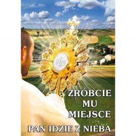 Plakat – Zróbcie Mu miejsce, Pan idzie z nieba