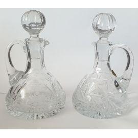 Ampułka szklana - kryształ wino/woda
