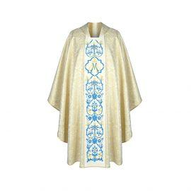 Ornat haftowany Maryjny złoty (32)