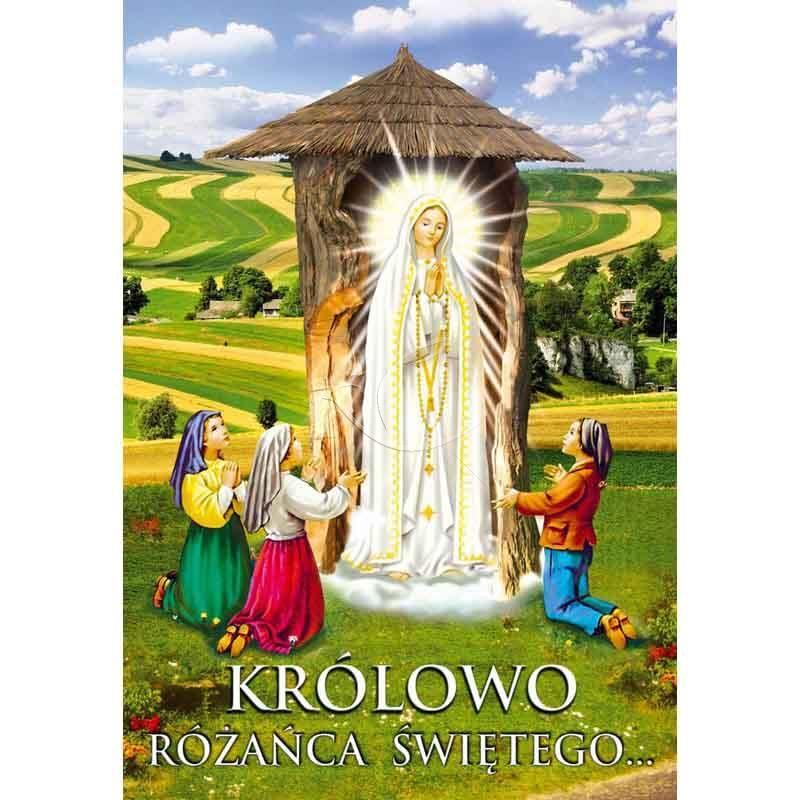 Plakat – Królowo Różańca Świętego