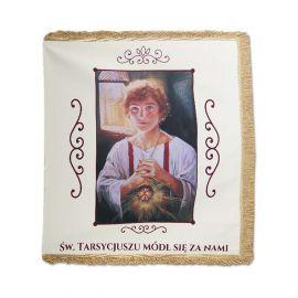 """Chorągiew kościelna - Ministrancka (""""Św. Tarsycjusz"""")"""