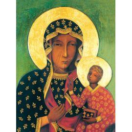 Obraz 30x40 - Matka Boża Częstochowska