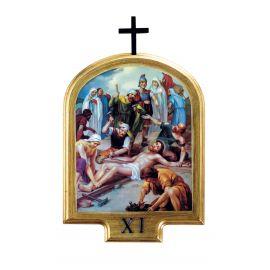 Stacje drogi krzyżowej 32 x 24,5 cm (5)