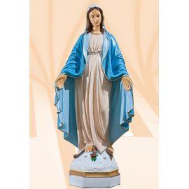 Figura Matka Boża Niepokalana kolor - 70 cm