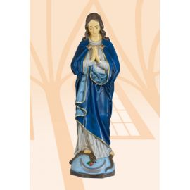 Figura Matka Boża Niepokalana kolor - 63 cm
