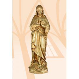 Figura Matka Boża Niepokalana 63 cm (włoskie złoto jasne)