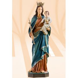 Figura Matka Boża Królowa Świata kolor 110 cm