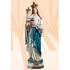 Figura Matka Boża Królowa Świata kolor 100 cm