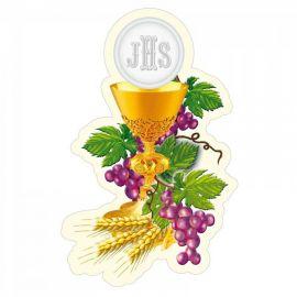 Emblemat na Boże Ciało - wzór eucharystyczny (1)