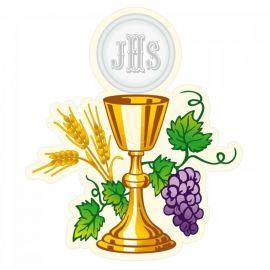 Emblemat na Boże Ciało - wzór eucharystyczny (3)