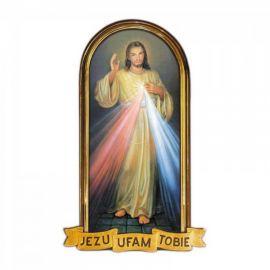 Emblemat na Boże Ciało - Jezu Ufam Tobie