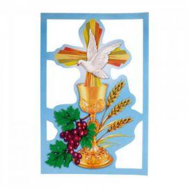 Emblemat na Boże Ciało - wzór eucharystyczny (5)
