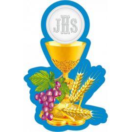 Emblemat na Boże Ciało - wzór eucharystyczny (6)