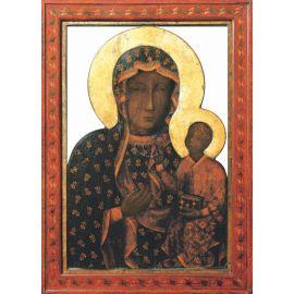 Emblemat na Boże Ciało 32x48 cm - Matka Boża Częstochowska