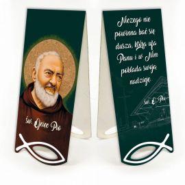 Zakładka św. Ojciec Pio