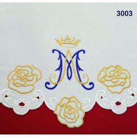 Obrus Maryjny haftowany (80)