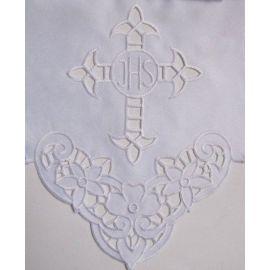 Obrus ołtarzowy haftowany - wzór eucharystyczny (113)
