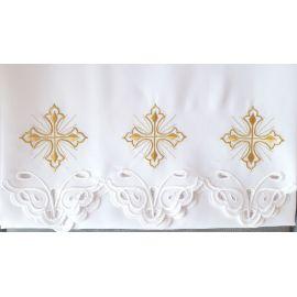 Obrus ołtarzowy haftowany - wzór eucharystyczny (99)