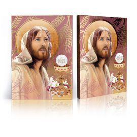 Pamiątka Sakramentu Pierwszej Komunii Świętej - Ikona Jezus Chrystus (4)