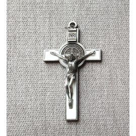 Krzyż św. Benedykta - biały