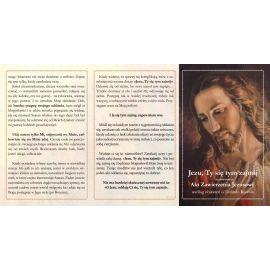 Folder składany Jezu Ty się tym zajmij