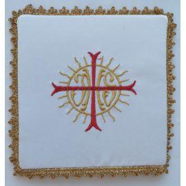 Palka haftowana IHS + czerwony krzyż (3)