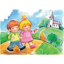 Puzzle religijne dla dzieci 40 elementów