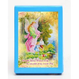 Puzzle religijne dla dzieci 40 elementów Anioł Stróż (6)