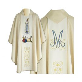 Ornat haftowany Matka Boża Fatimska (4)