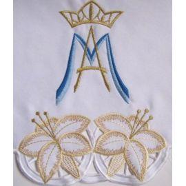 Obrus Maryjny haftowany (82)