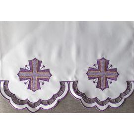 Obrus ołtarzowy haftowany - wzór eucharystyczny (197)