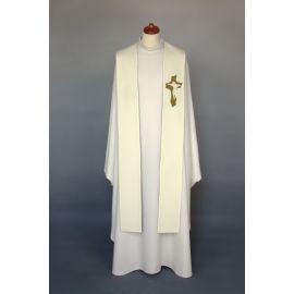 Stuła haftowana do koncelebry - kolory liturgiczne (5)