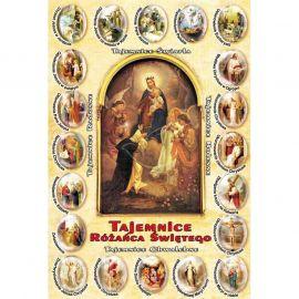 Plakat - Tajemnice różańca świętego (1)