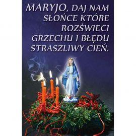 Plakat – Maryjo daj nam słońce…