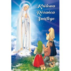 Plakat - Królowa Różańca Świętego