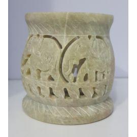 Kadzielnica domowa - kamień mydlany - 9 cm (7)