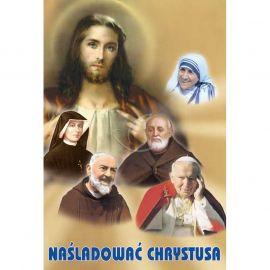 Plakat - Naśladować Chrystusa