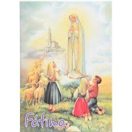Matka Boża Fatimska - Ikona dwustronna format A5 (2)