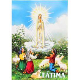 Matka Boża Fatimska - Ikona dwustronna format A5