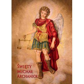 Święty Michał Archanioł - Ikona z Aktem oddania format A5